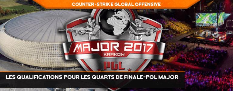 Les qualifications pour les quarts de finale-PGL Major