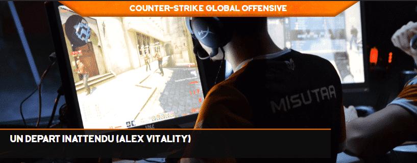 Un départ inattendu (Alex Vitality)